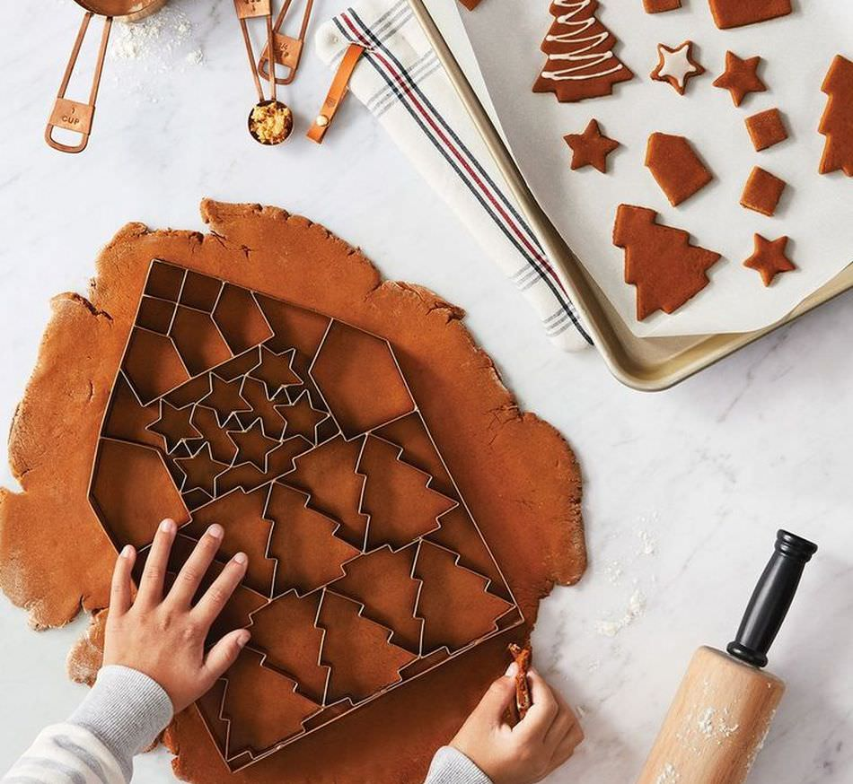 Giant Cookie Cutter from Target Cuts Multiple Cookies at Once
