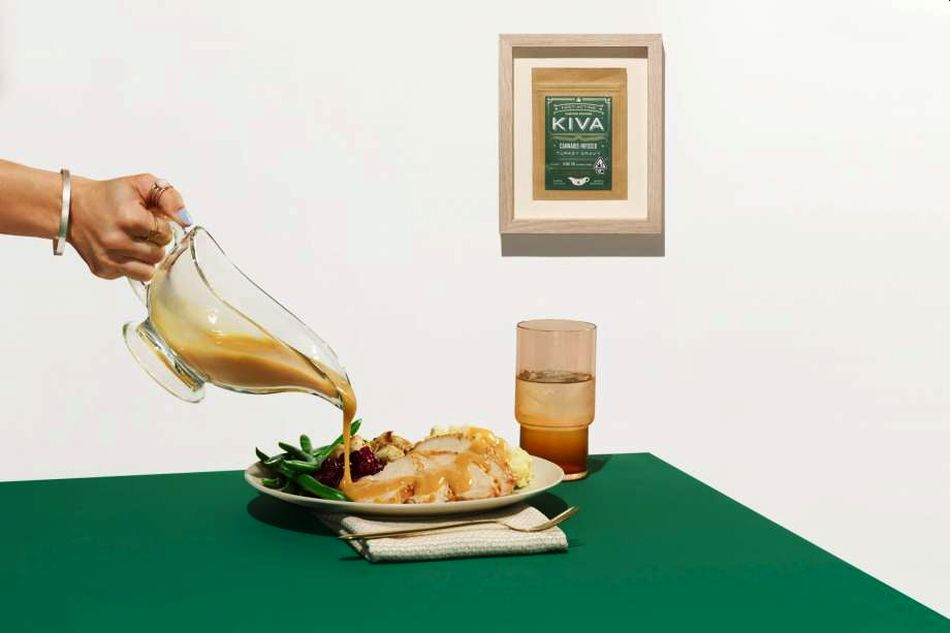 Kiva Confections Cannabis-Infused Turkey Gravy