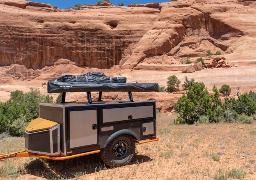 Moto Burly Off-Road Trailers to Explore Backcountry