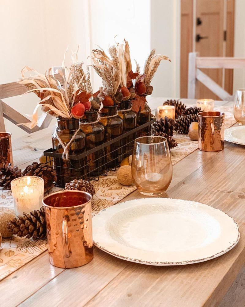 Simple yet Beautiful Thanksgiving Table Decoration Ideas to Follow in 2020