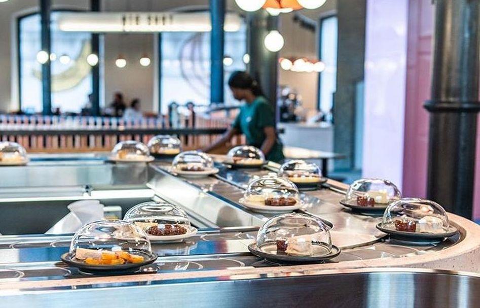 World's First Cheese Conveyor Belt Restaurant is Open in London