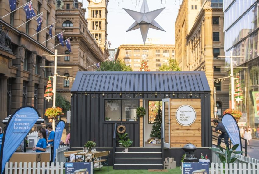 Amazon Australia's Giveaway to Win a Fully-Furnished Tiny House