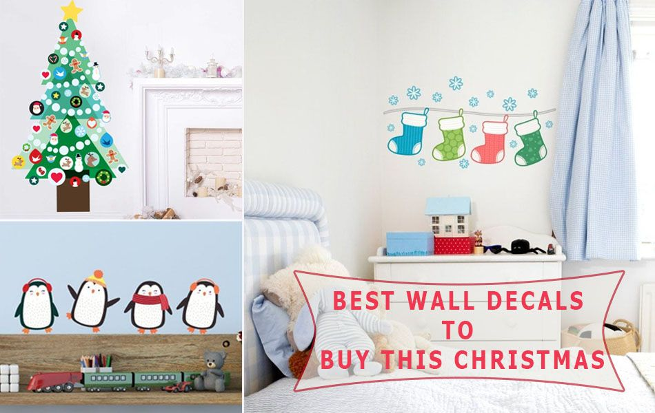Best Christmas wall decals to buy in 2019