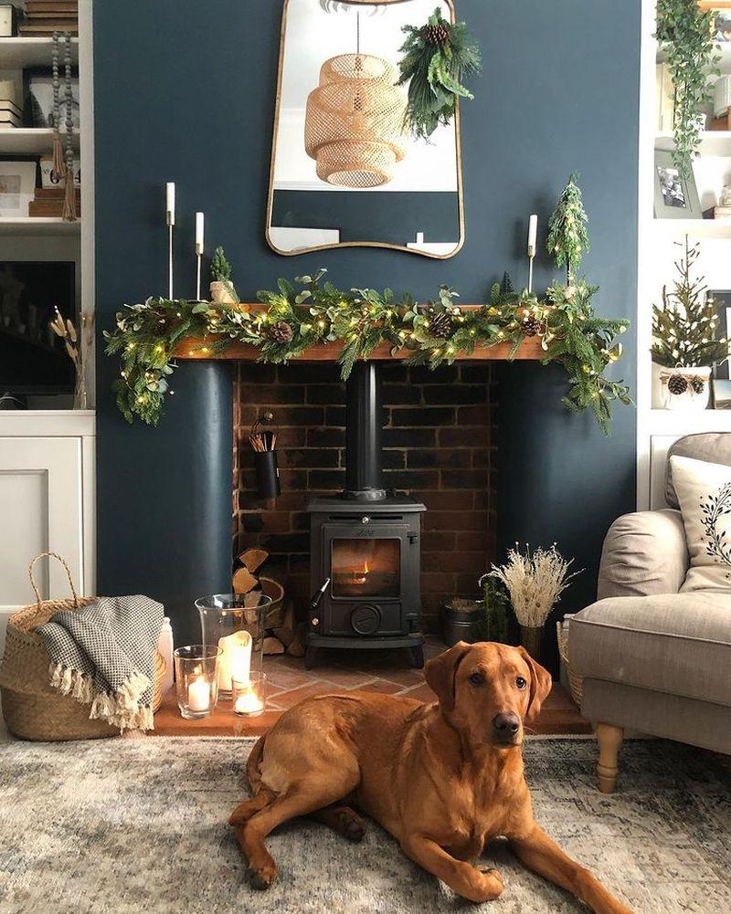 Christmas mantle decoration ideas