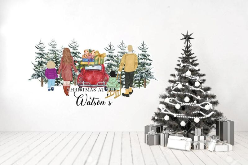 Christmas wall decals to buy
