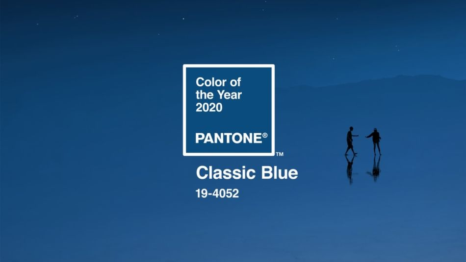 Pantone Chooses Calming Shade of Classic Blue Its Color of Year for 2020