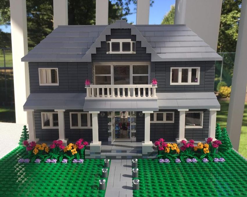 You can Now Get a Scaled Down Replica of Your Home made of LEGO Bricks
