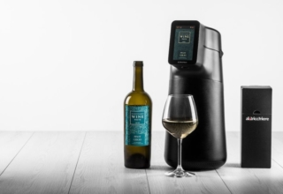 Albi Home M is a Smart Wine Dispenser and Preservation System