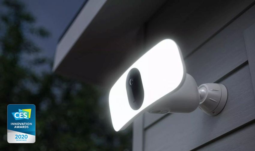 Arlo Pro 3 Floodlight Camera Needs No Wiring