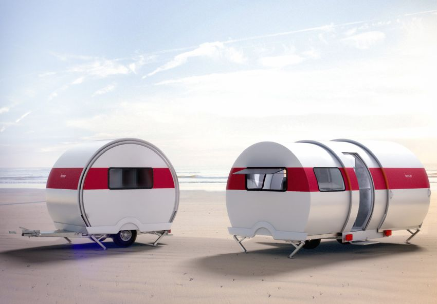 BeauEr 3X Caravan Expands Living Space Triple with Push of a Button