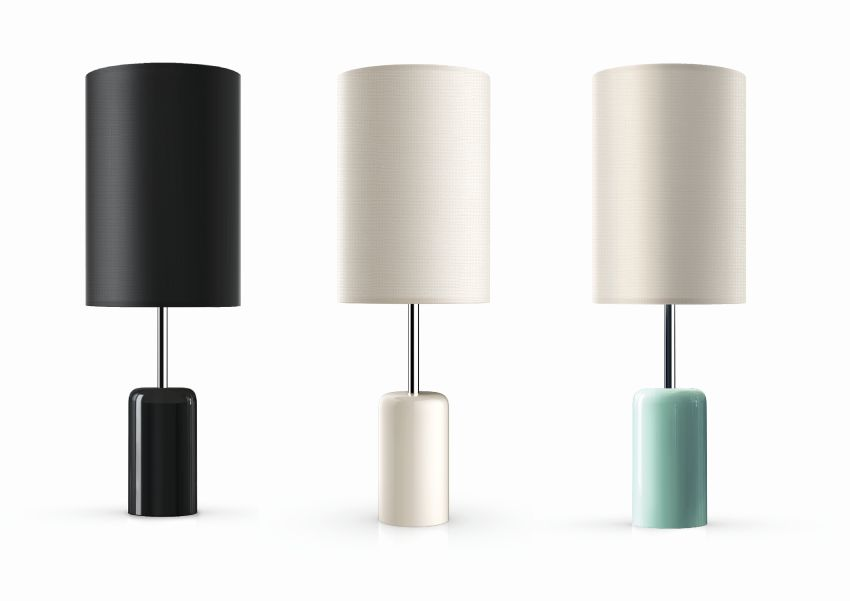 Cuppa Cordless LED Table Lamp Features 360-Degree Touch Control Base