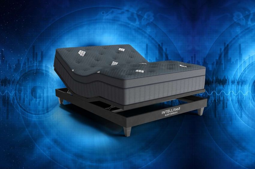 Intellibed Unveils Sleep Genius Smart Base Comforts Mind and Body