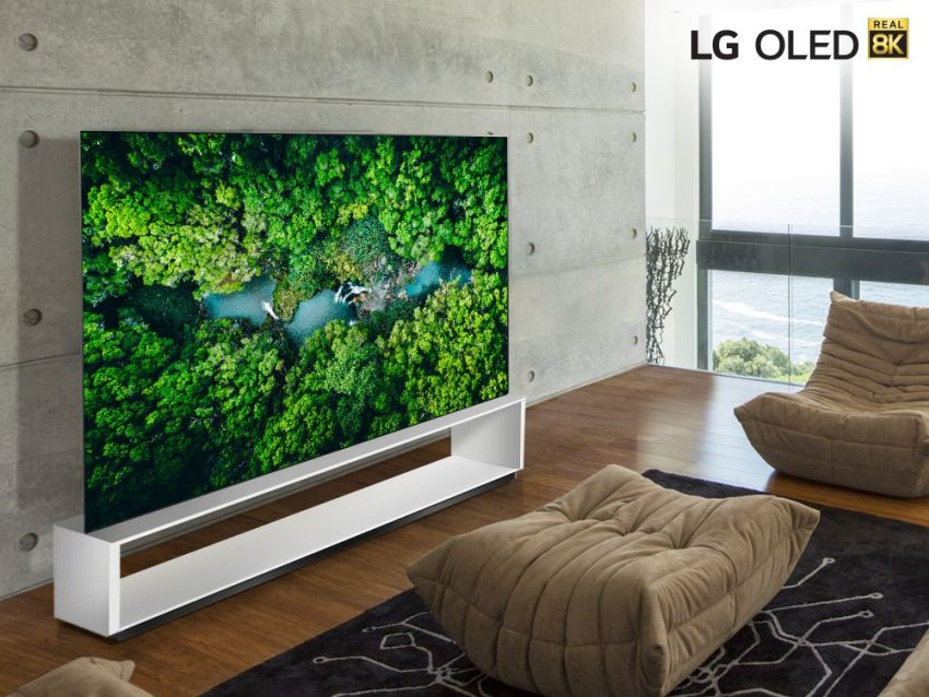 LG Introducing New 8K TVs with Improved Processor and Smart Features at CES 2020