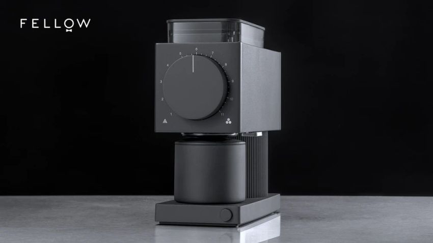 Ode Brew Grinder by Fellow Raises over $1 Million at Kickstarter
