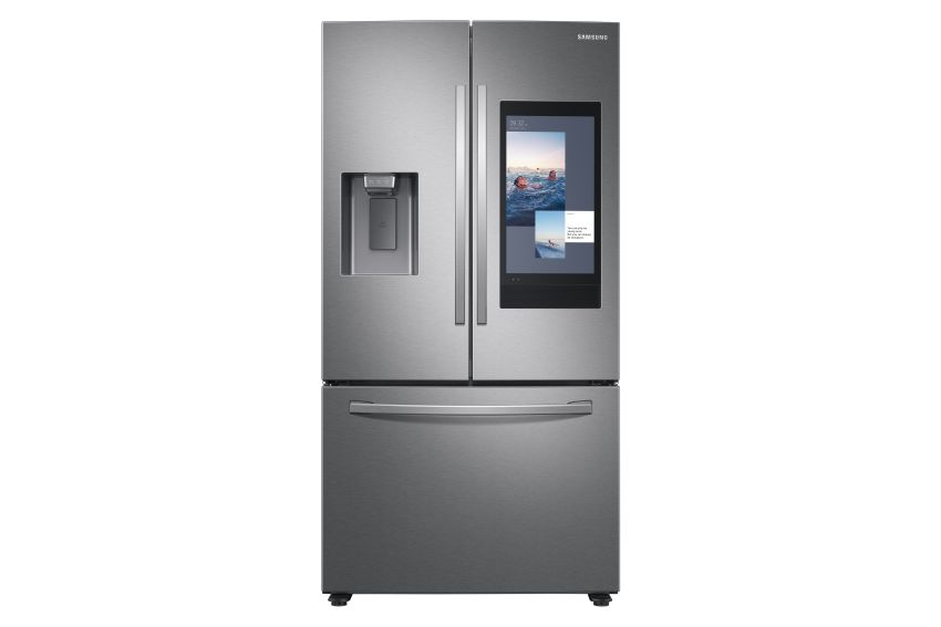 Samsung's New Family Hub Refrigerator with AI-Powered Cameras to Streamline meal