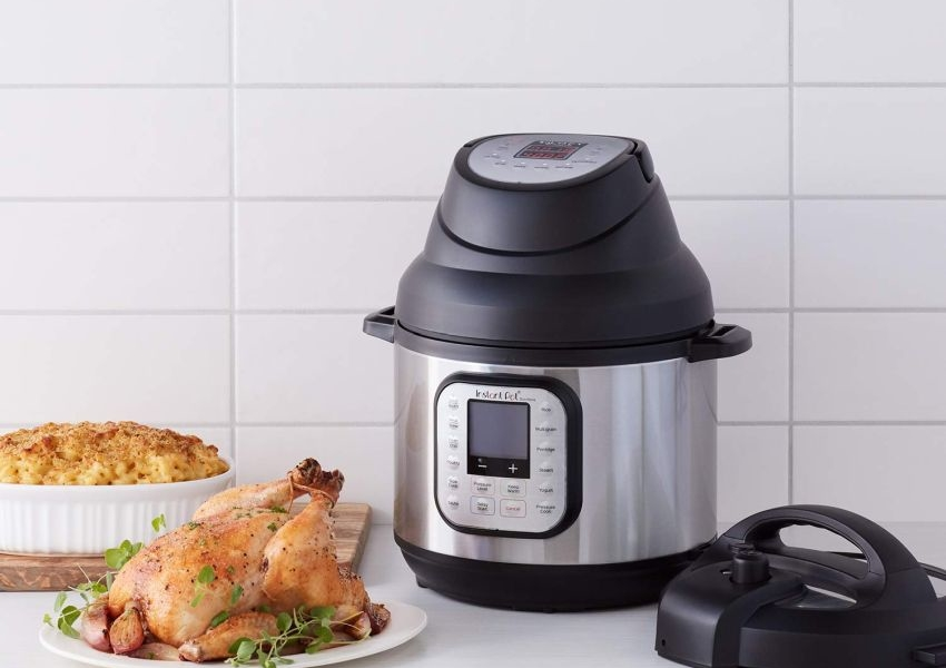 Instant Pot Air Fryer Lid Available at Discounted Price of $80 on Amazon