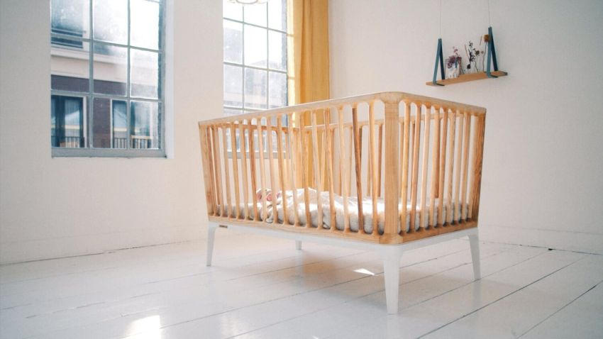 This One-of-a-Kind Crib is Made Without Using any Fossil Fuels