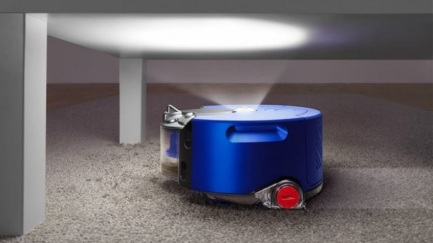 Dyson 360 Heurist Robot Vacuum Cleaner with 360-Degree Night Vision