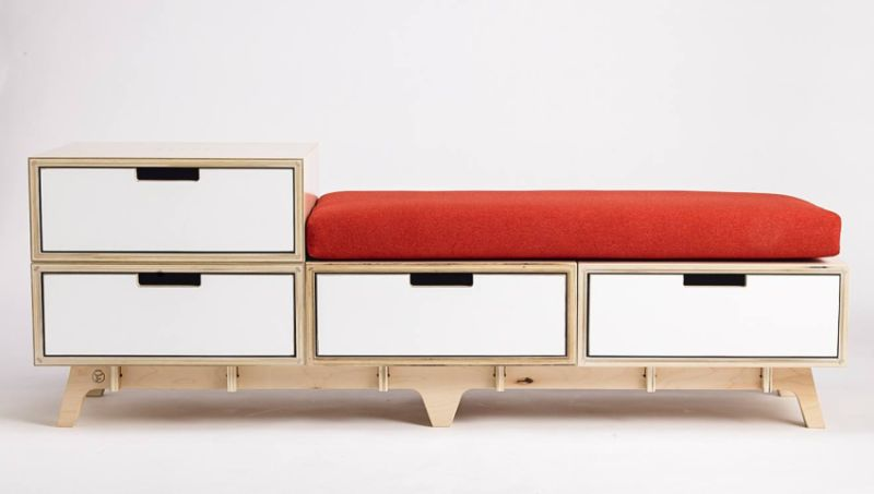 Flitch Modular Furniture can be Assembled Without any Tools