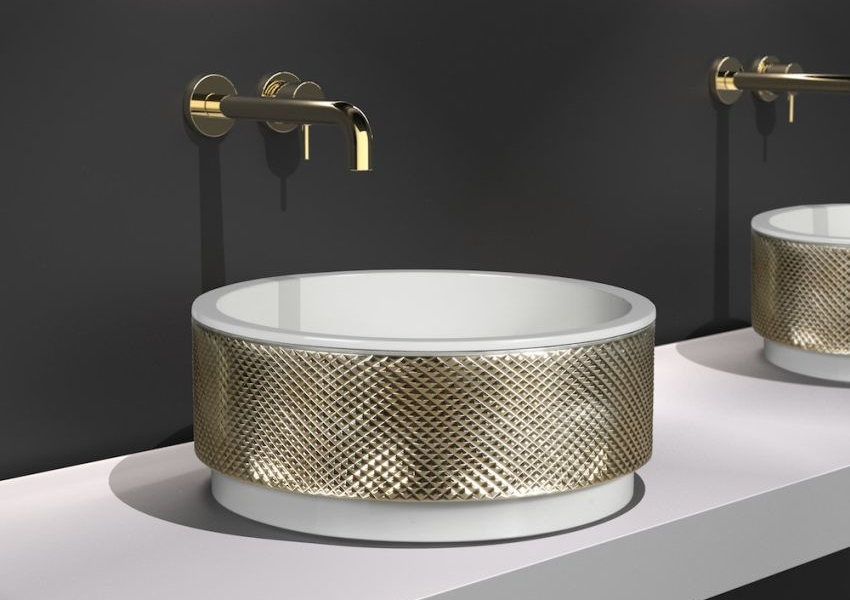 Glass Design S Royal Absolute Washbasin Is Epitome Of Luxury
