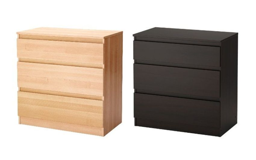IKEA Recalls its KULLEN 3-Drawer Chests Due to Top-Over Risk