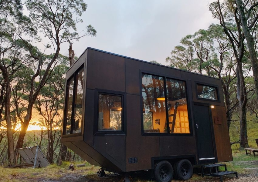 Jude by CABN is an Off-Grid Tiny Cabin in South Australia
