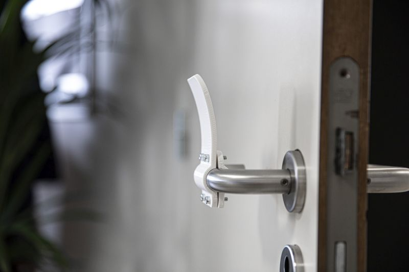 Materialise Designs 3D Printed Hands-Free Door Opener to Prevent Coronavirus Spread