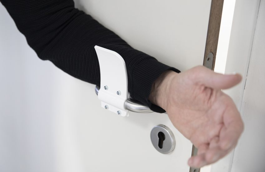 Materialise Designs 3D Printed Hands-Free Door Opener to Prevent Coronavirus Spread