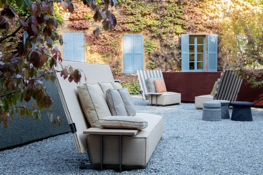 Philippe Starck Designs Oh, It Rains Outdoor Furniture Collection for B&B Italia