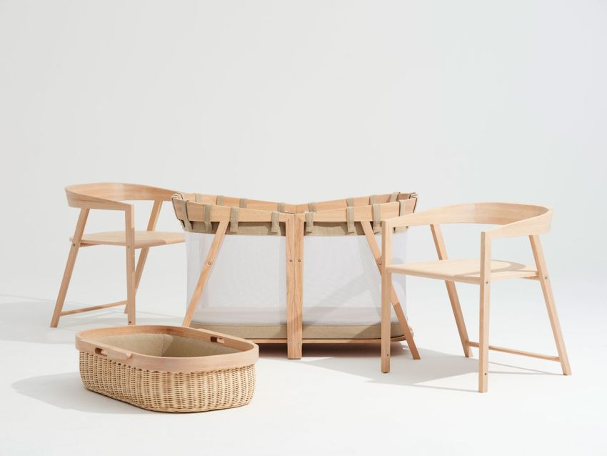 Top Winner of Toca Madera Competition is a Cradle that Evolves with Baby
