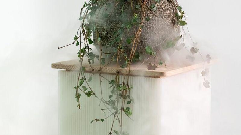 WooYoo's FuwaFuwa Furniture Collection Combines Oak Wood with Corrugated Plastic