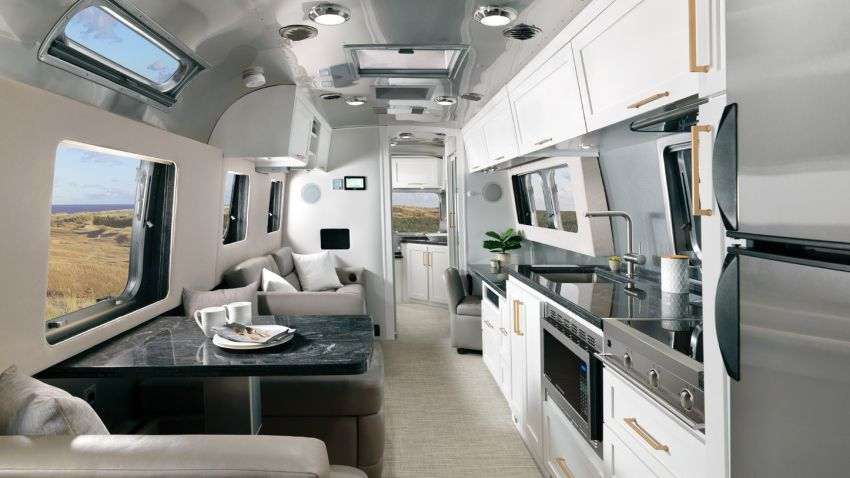 2020 Airstream Classic Travel Trailer Gets New Interior Options and Improved Features