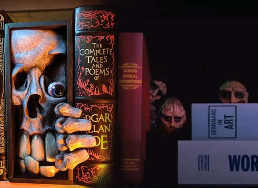Bibliophiles will Love These Bookend Monsters by Tom Taggart