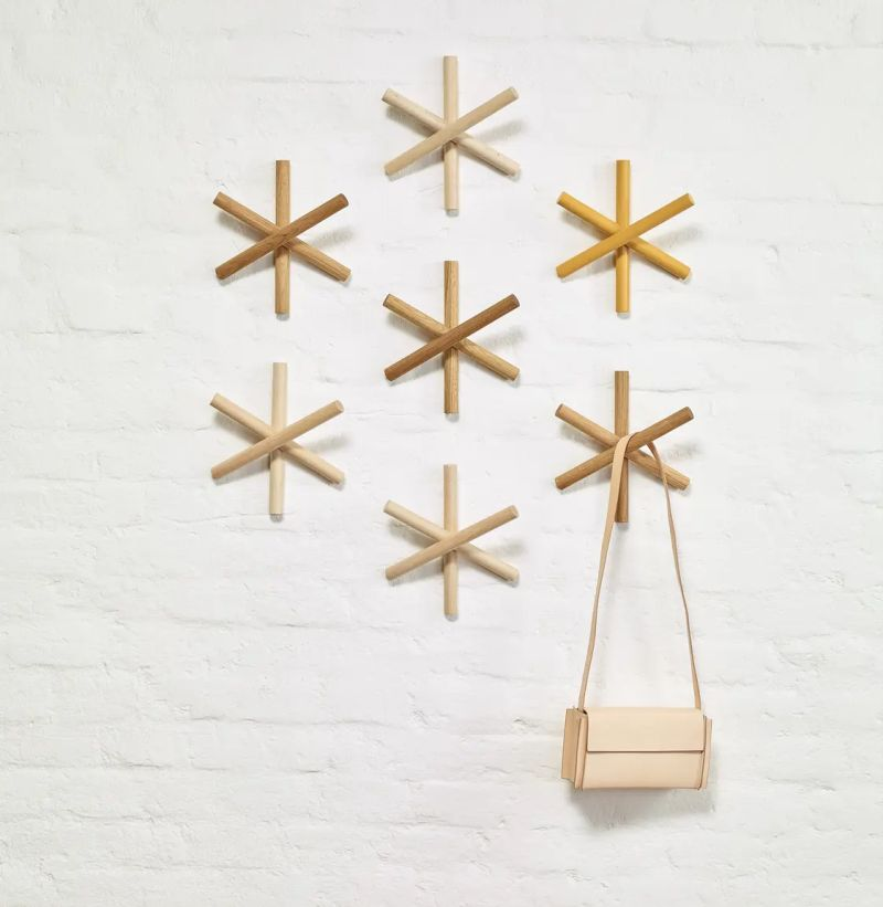 Buro Famos Designs Logs Wall Coat Hook for TON