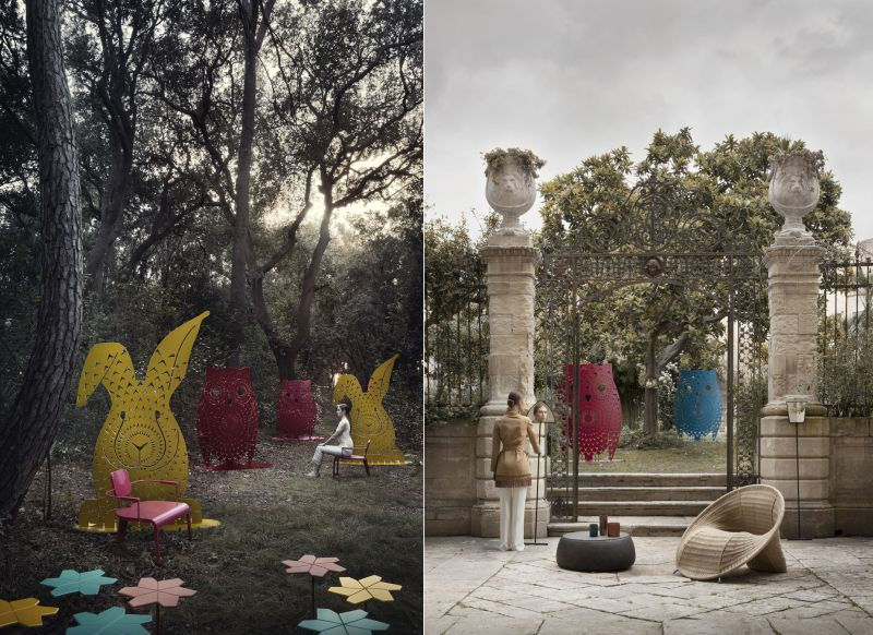 DA A Italia's Animal-Shaped Privacy Screens are Quirky Additions to Home
