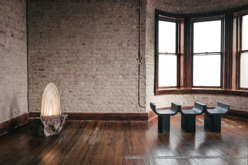 EWE Studio Creates Aura White Onyx Stone Lamp