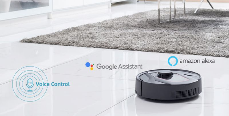 HaierTab Tabot Robot Vacuum Cleaner and Mop Eliminates Mess of Hair