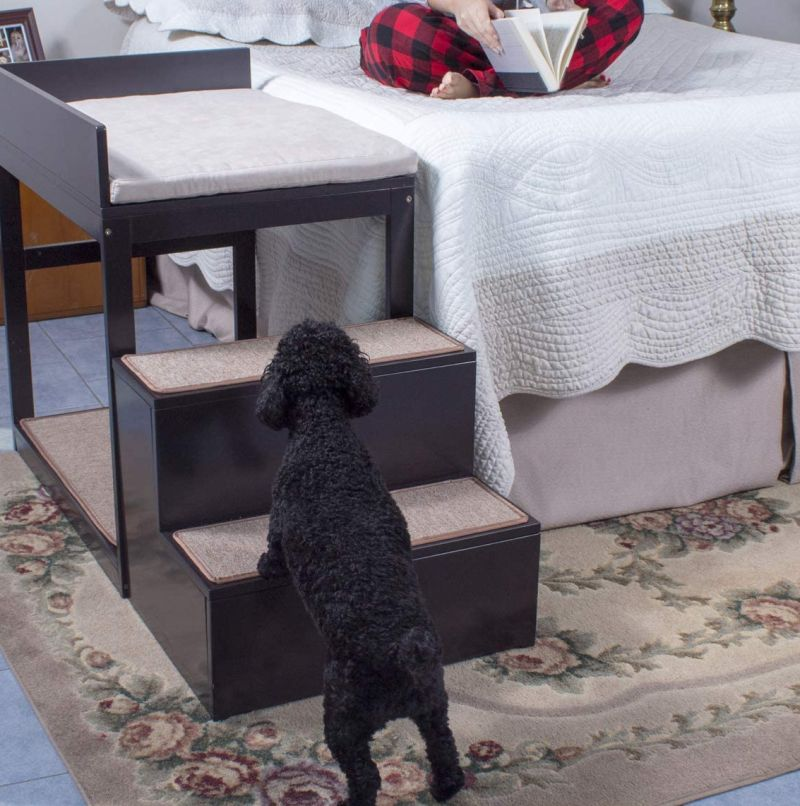 Penn Plax Dog Bed Allows Your Pet to Sleep Next to Your Bed With Taking Up Your Space