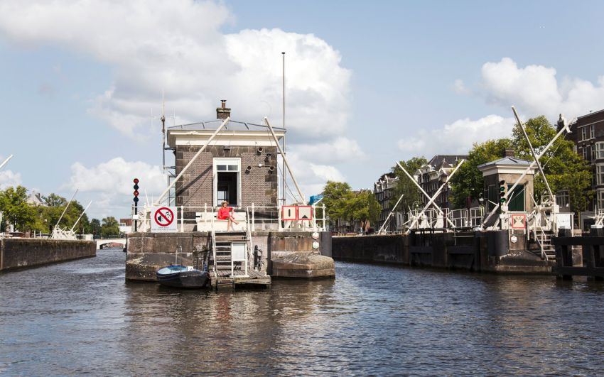SWEETS Hotel in Amsterdam is Bridge Houses Turned into Tiny Hotel Suites