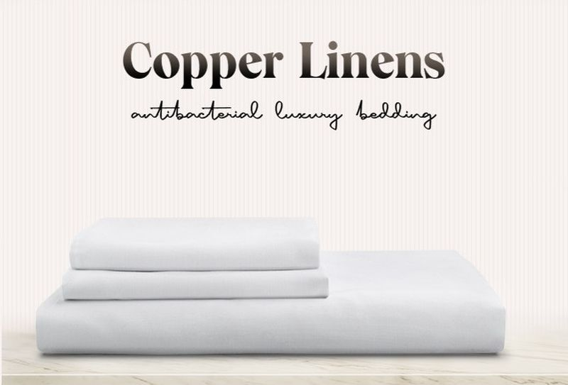 Startup Launches Copper Linens Copper-Infused Antimicrobial Luxury Bed Sheets