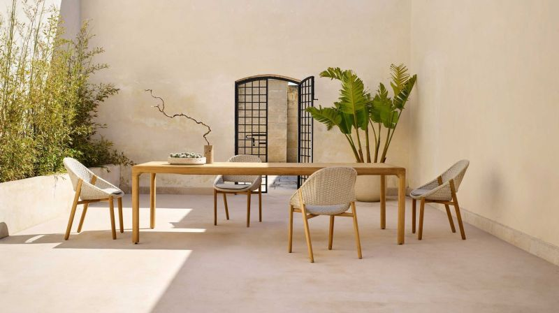Yabu Pushelberg Designs Elio furniture collection for Tribù