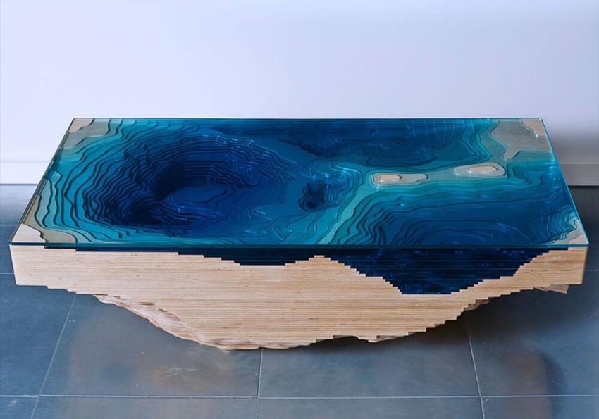 Abyss Table by Christopher Duffy of Duffy London