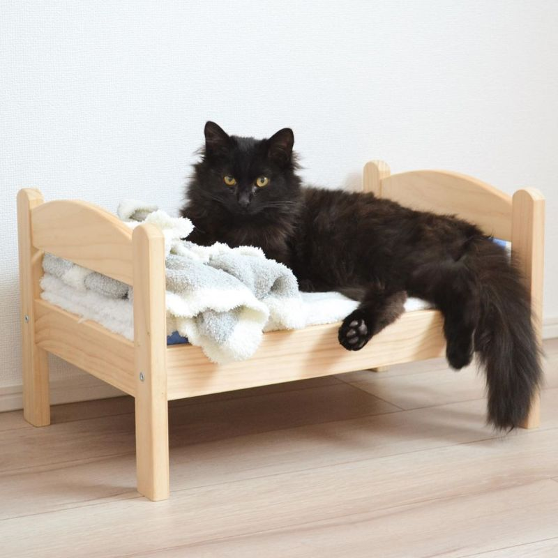 Cat Owners Turn IKEA Toy Furniture into Adorable Pet Beds