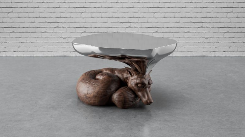 Dreaming Fox Table by Stelios Mousarris