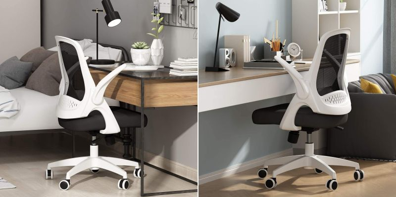 Hbada Office Flip Up and Adjustable Office Chair