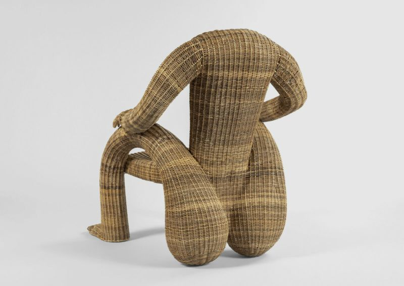 Human Shaped Chairs Designed by Chris Wolston