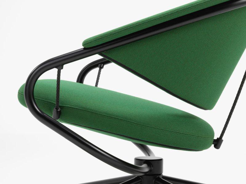 Konstantin Grcic Designs Citizen Armchair for Vitra