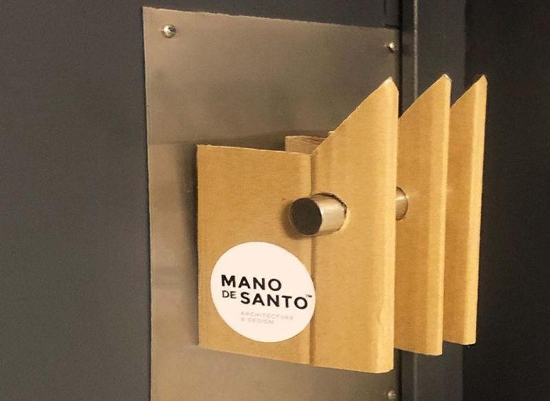 Mano de Santo Hands Up DIY Door Handle-1