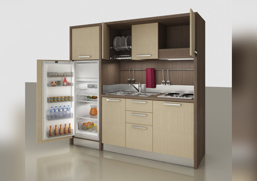 Mobilspazio Mini Kitchens are Perfect for Small Living Spaces