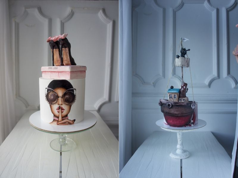 Russian Pastry Chef Elena Gnut Now Runs Online School to Learn Cake Art